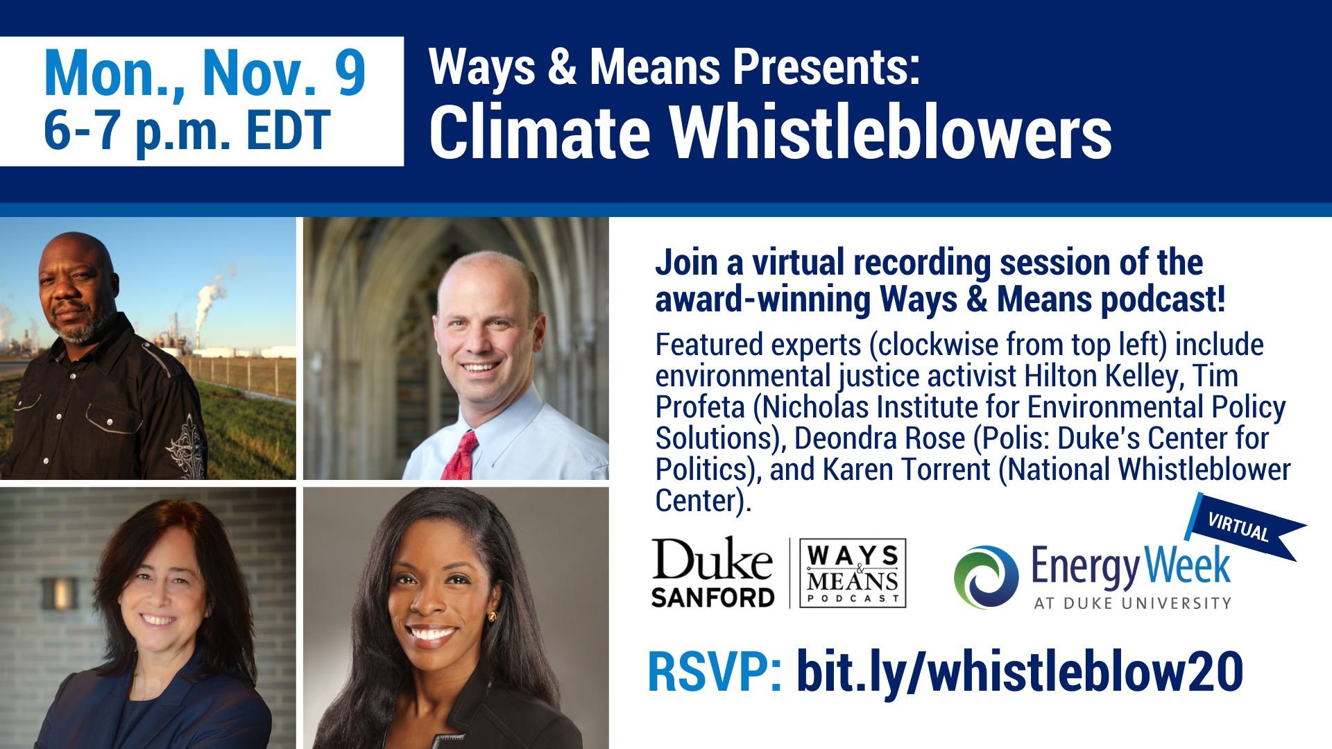 Join Ways & Means for Climate Whistleblowers