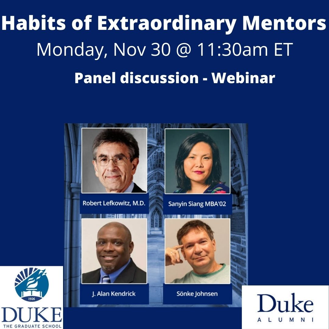 Habits of Extraordinary Mentors webinar
