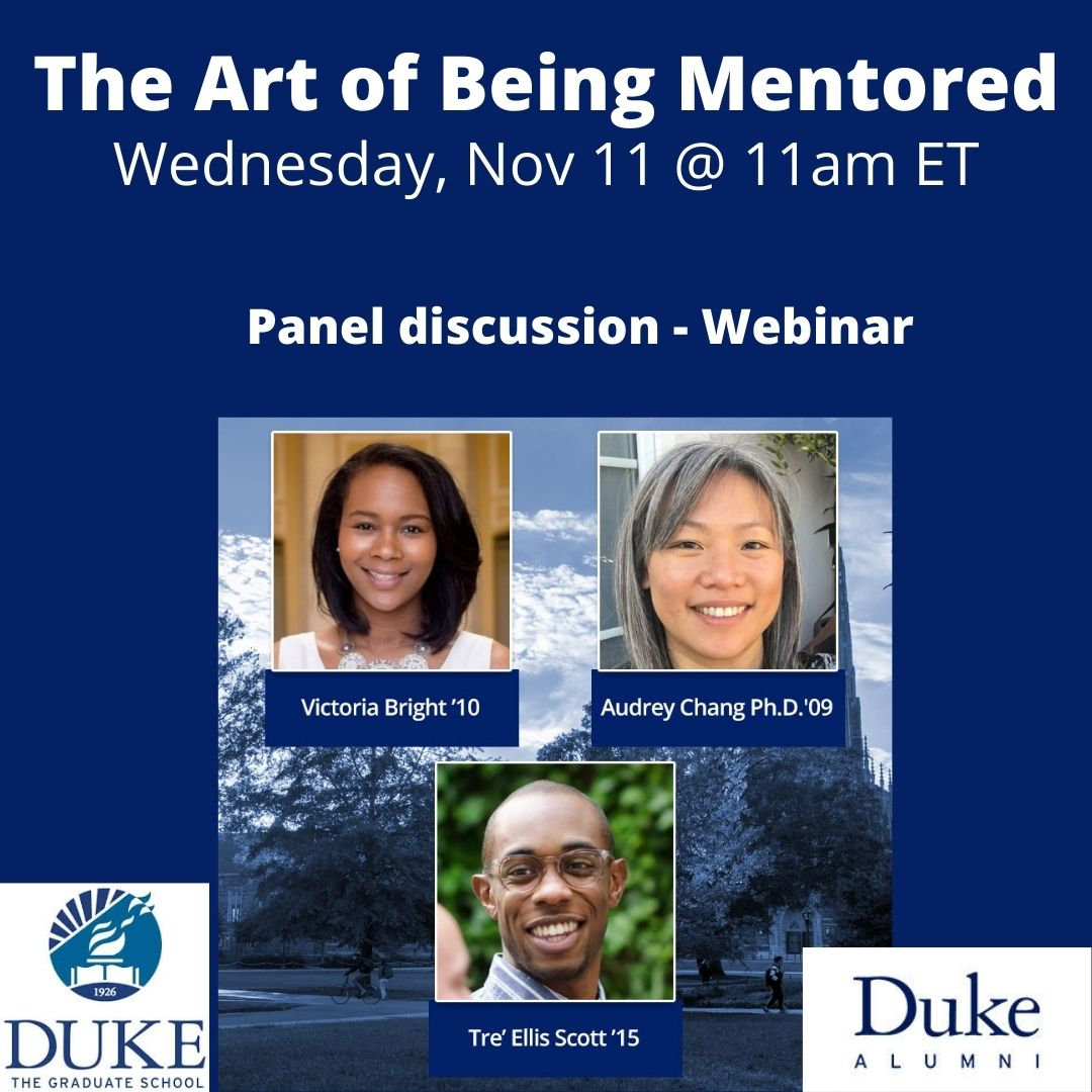 Art of Being Mentored webinar