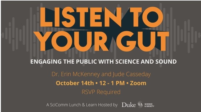 Listen to Your Gut: Engaging the Public with Science and Sound