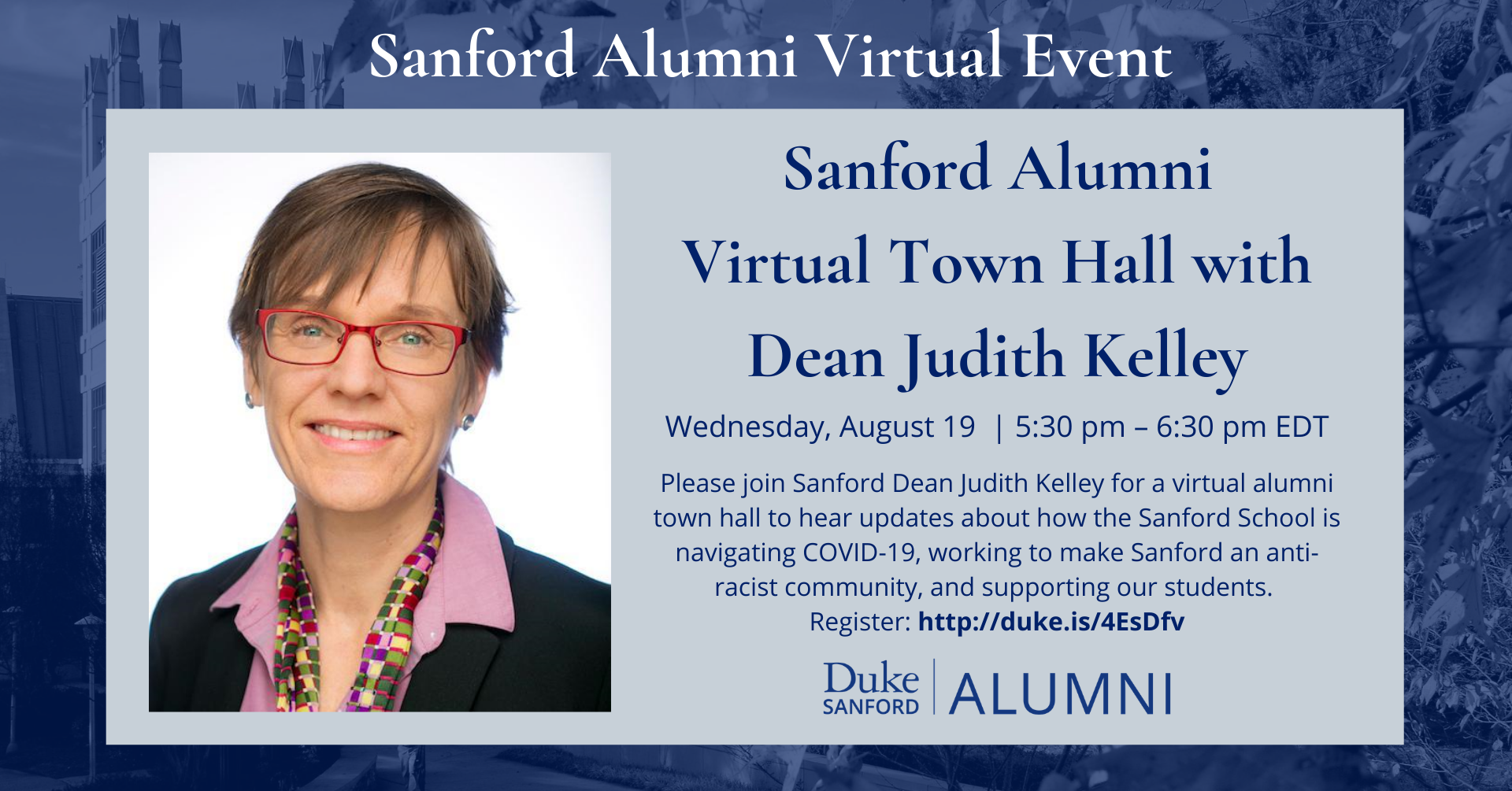 Sanford Alumni Town Hall