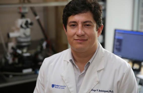 Diego Bohórquez, assistant professor of medicine at the Duke School of Medicine