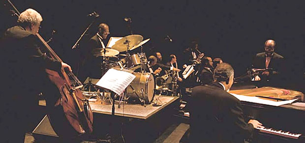 In tune: Charles Tolliver Orchestra recreates Monk's Town Hall concert at Page Auditorium Michael Zirkle