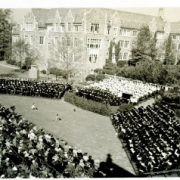 Centennial year 1938 ceremony