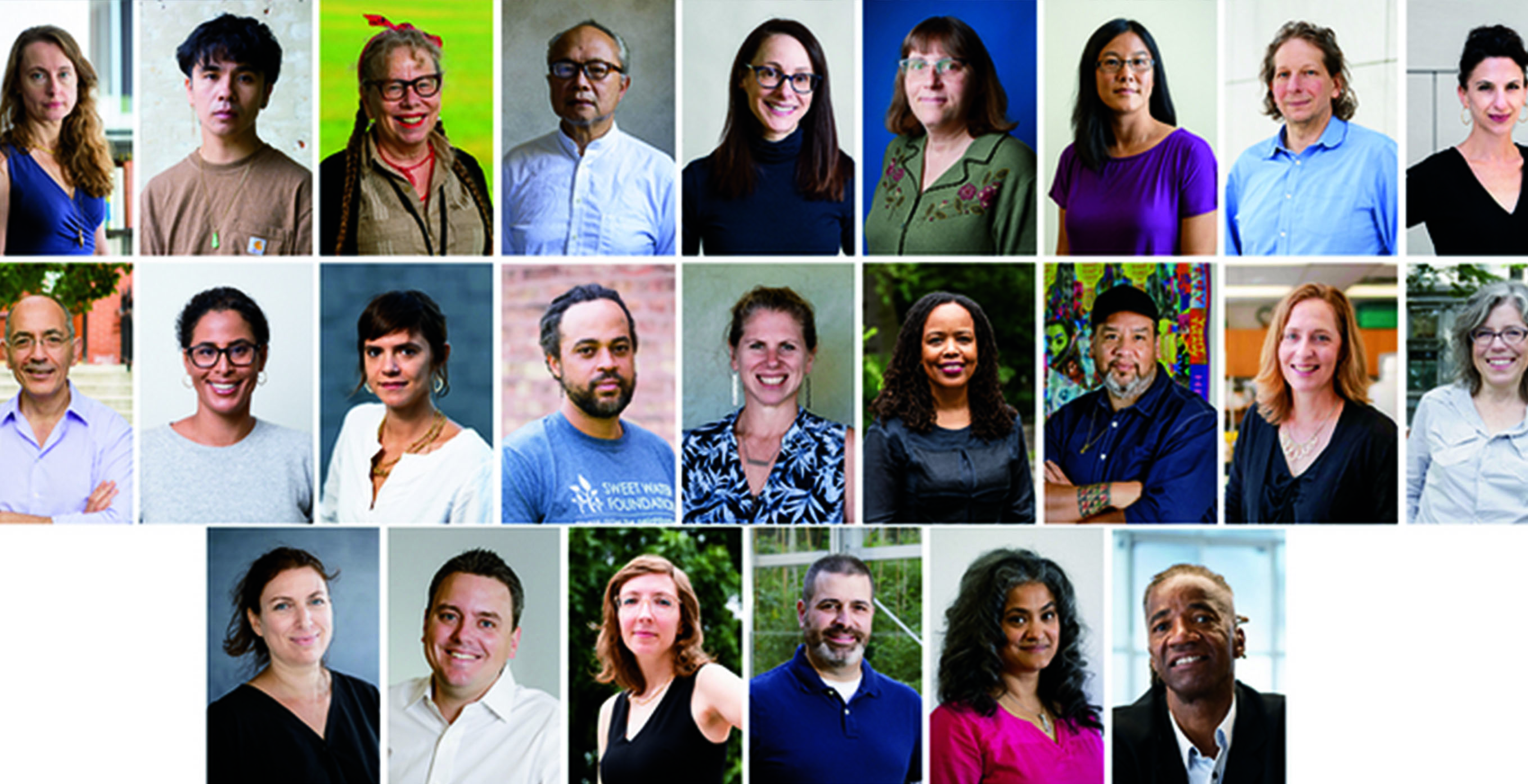 Image of the 2019 MacArthur Fellowship winners