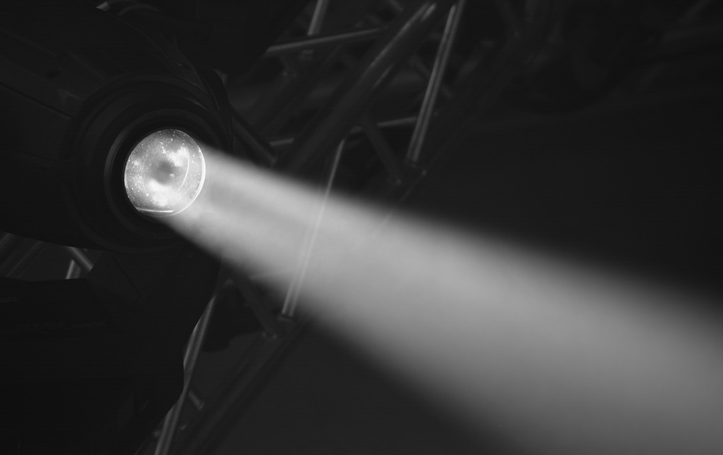 Photo of a spotlight