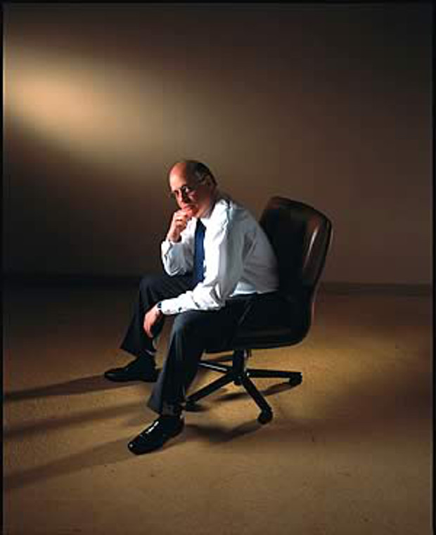 """Beginning tomorrow, I'm going to be there,"" Gil Scharf told his employees at Euro Brokers Inc. on September 17, 2001. ""If you can't make it tomorrow, that's fine. If you can't make it next week, that's fine too. If it takes you a month, it doesn't matter."" Chris Hildreth."