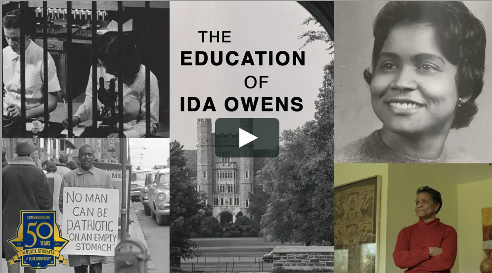 The education of Ida Owens youtube thumbnail