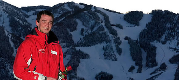 On the slopes: bachelor Sands in Aspen. Zach Ornitz/Aspen Daily News