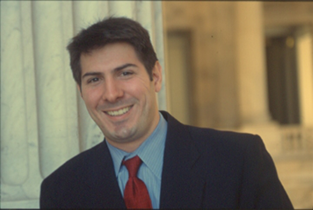Frey: legislative assistant on the Senate Foreign Relations Committee.  Photo: © Dennis Brack 2001