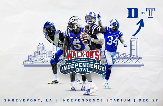"Forever Duke ""Walk-On's Independence Bowl"" Pregame Party"