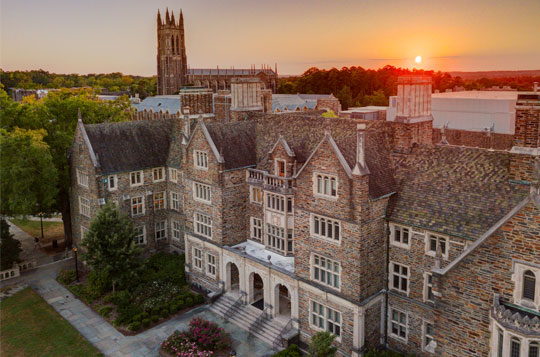 duke campus buildings