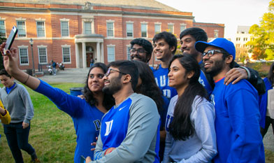 duke students having fun