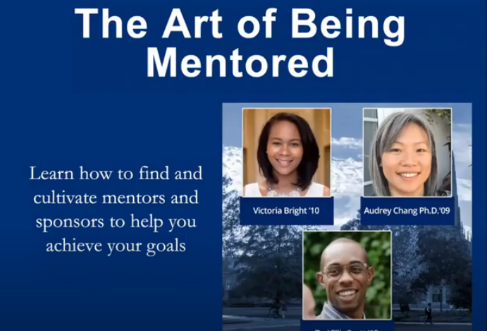 The Art of Being Mentored screenshot from youtube video