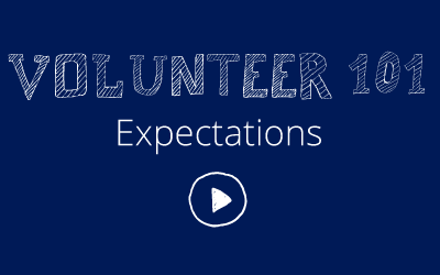 Volunteer 101: Expectations